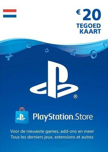 PlayStation Network Card 20 EUR (NL) PSN Key NETHERLANDS
