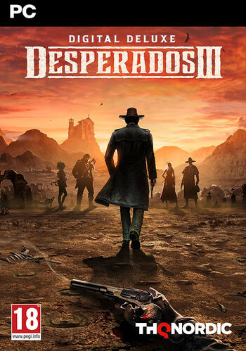 Desperados III Digital Deluxe Edition clé Steam GLOBAL