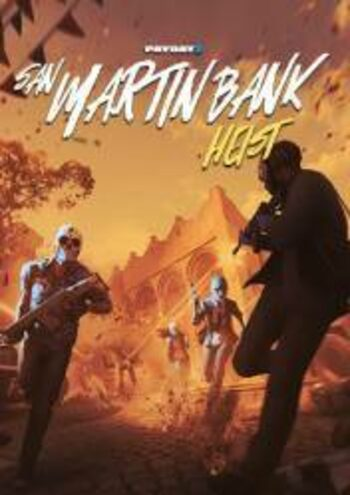 PAYDAY 2: San Martin Bank Heist (DLC) Steam Key GLOBAL