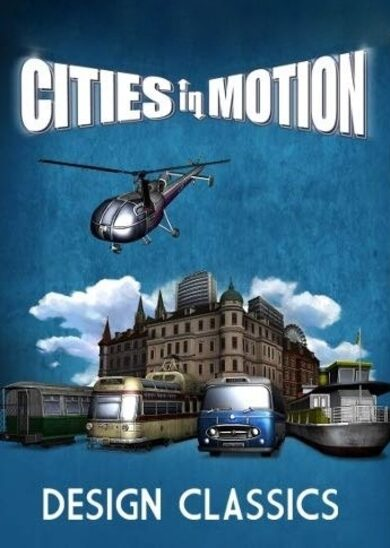 Paradox Interactive / Cities in Motion - Design Classics (DLC) Steam Key GLOBAL