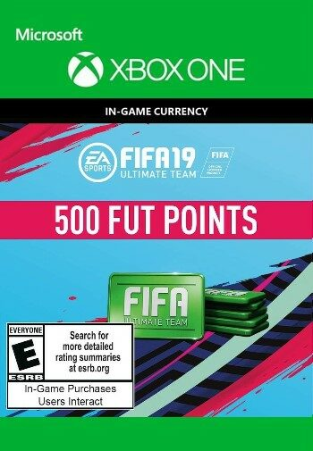 FIFA 19 - 500 FUT Points XBOX LIVE Key GLOBAL