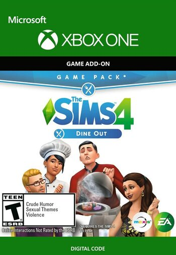 The Sims 4: Dine Out (DLC) (Xbox One) Xbox Live Key UNITED STATES