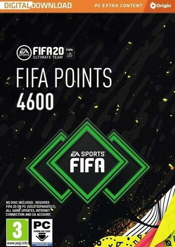 FIFA 20 - 4600 FUT Points Origin Key GLOBAL