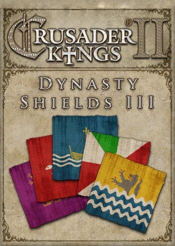 Crusader Kings II - Dynasty Shields III (DLC) Steam Key GLOBAL