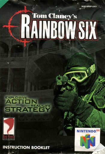 Tom Clancy's Rainbow Six Gog.com Key GLOBAL