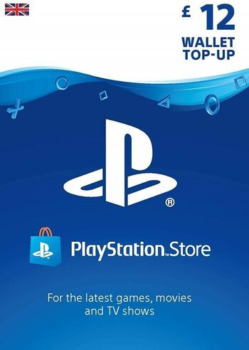 PlayStation Network Card 12 GBP (UK) PSN Key UNITED KINGDOM