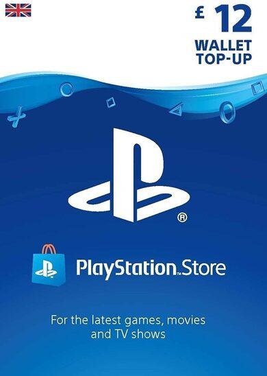PlayStation Network Card 12 GBP (UK) PSN Key UNITED KINGDOM