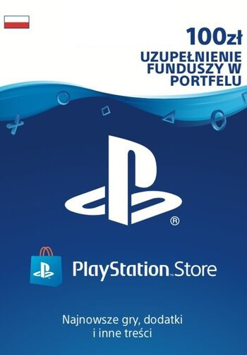 PlayStation Network Card 100 PLN PSN Klucz POLAND