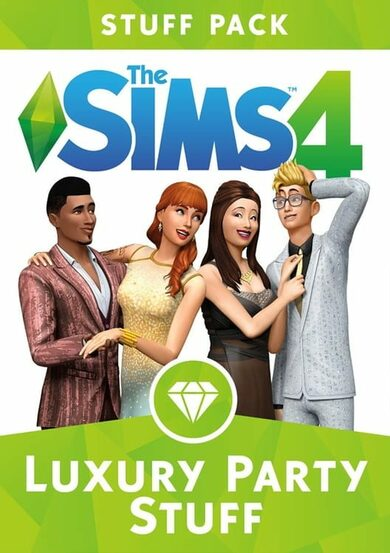 The Sims 4: Luxury Party Stuff (DLC) Origin Key GLOBAL