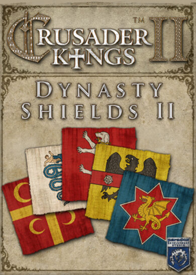 Crusader Kings II - Dynasty Shields II (DLC) Steam Key GLOBAL