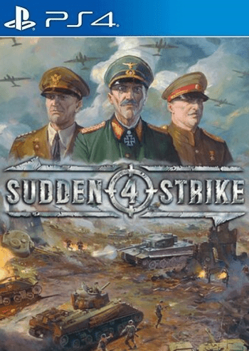 Sudden Strike 4 (PS4) PSN Key UNITED STATES