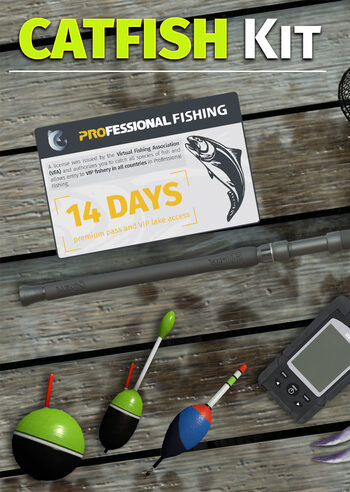 Professional Fishing: Catfish Kit (DLC) (PC) Steam Key GLOBAL