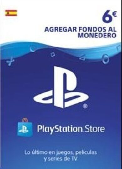 PlayStation Network Card 6 EUR (ES) PSN Key SPAIN