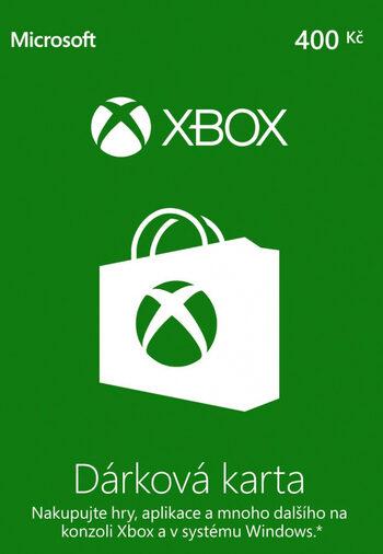Xbox Live Gift Card 400 CZK (CZ) Xbox Live Key CZECH REPUBLIC
