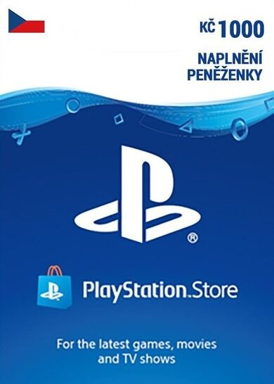 PlayStation Network Card 1000 CZK (CZ) PSN Key CZECH REPUBLIC