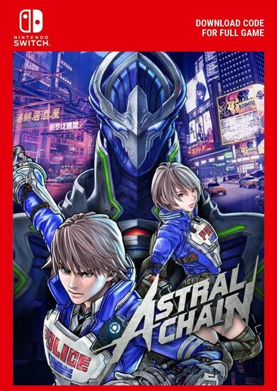 Astral Chain (Nintendo Switch) eShop Clave EUROPA