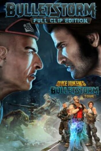 Bulletstorm: Full Clip Edition Duke Nukem Bundle Steam Key GLOBAL