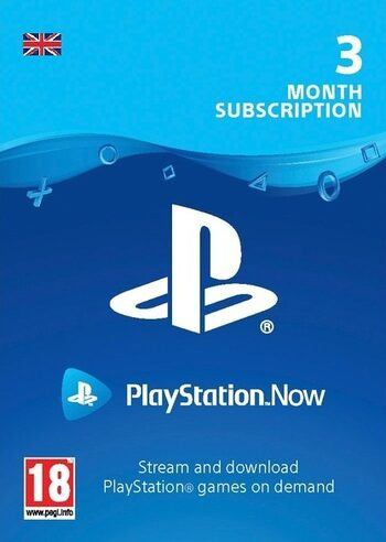 PlayStation Now 3 Months Subscription (UK) PSN Key UNITED KINGDOM