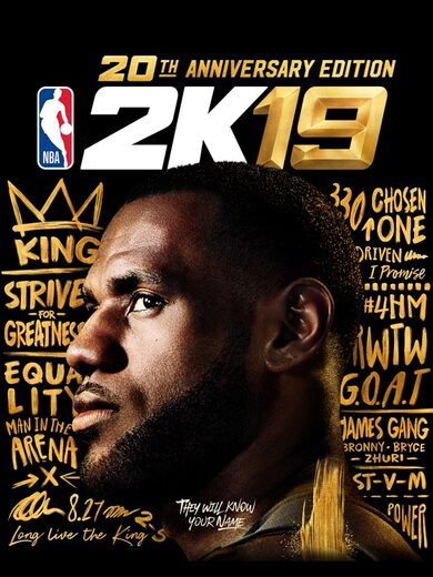 NBA 2K19 (20th Anniversary Edition) Steam Key GLOBAL