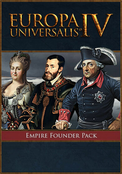 Europa Universalis IV - Empire Founder Pack (DLC) Steam Key GLOBAL