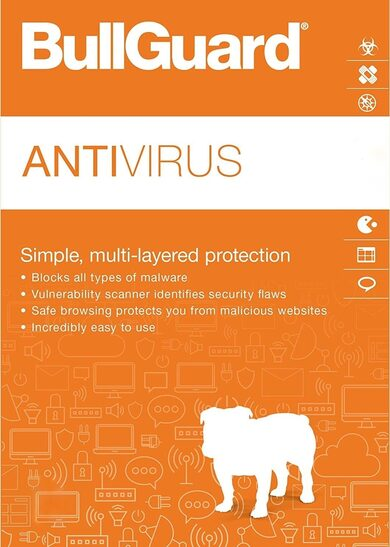 BullGuard Antivirus 1 Device 1 Year BullGuard Key GLOBAL