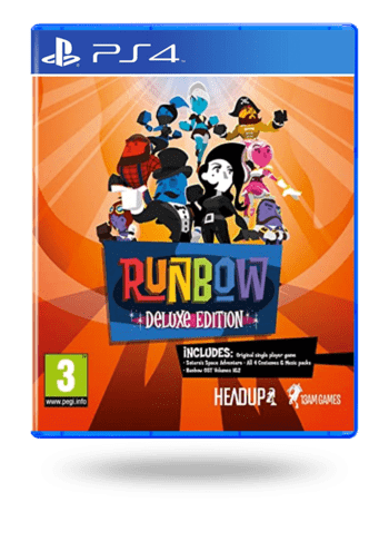 Runbow Deluxe Edition PlayStation 4
