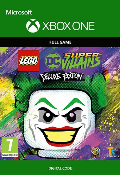 LEGO DC Super-Villains Deluxe Edition (Xbox One) Xbox Live Key EUROPE