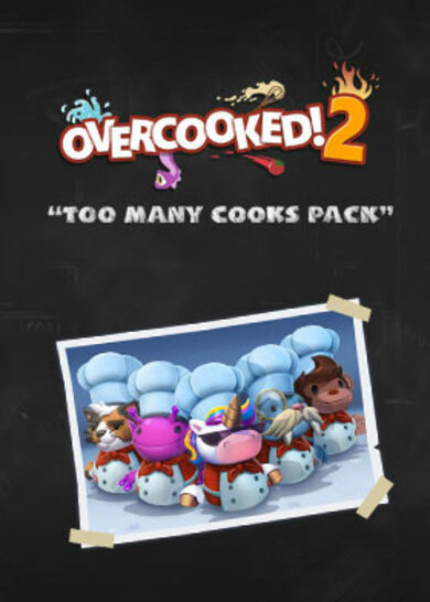 Overcooked! 2 - Too Many Cooks (DLC) Steam Key EMEA / NORTH AMERICA