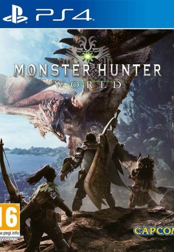 Monster: Hunter World (PS4) PSN Key NORTH AMERICA
