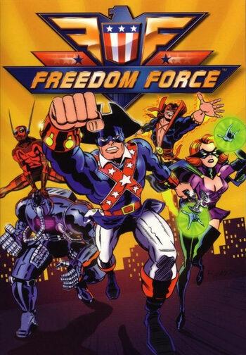 Freedom Force Steam Key EUROPE