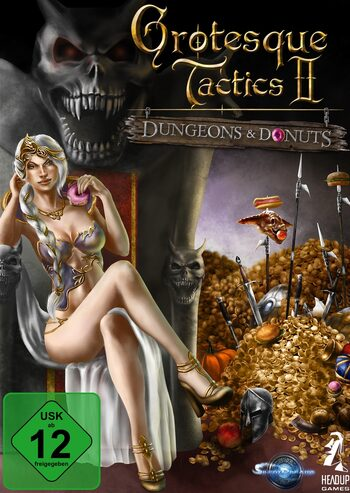 Grotesque Tactics 2 – Dungeons and Donuts Steam Key GLOBAL