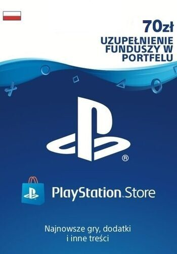 PlayStation Network Card 70 PLN PSN Klucz POLAND