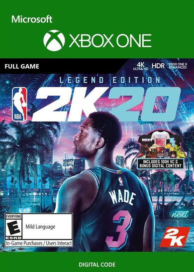 NBA 2K20 (Legend Edition) (Xbox One) Xbox Live Key GLOBAL