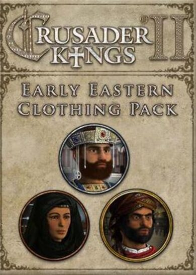 Crusader Kings II: Early Eastern Clothing Pack (DLC) Steam Key GLOBAL