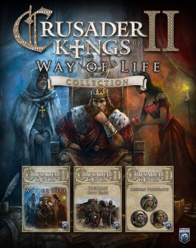 Crusader Kings II - Way of Life Collection (DLC) Steam Key GLOBAL