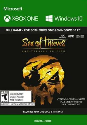 Sea of Thieves: Anniversary Edition (PC/Xbox One) Xbox Clave GLOBAL