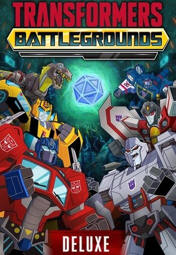 Transformers Battlegrounds Digital Deluxe Edition Steam Key GLOBAL