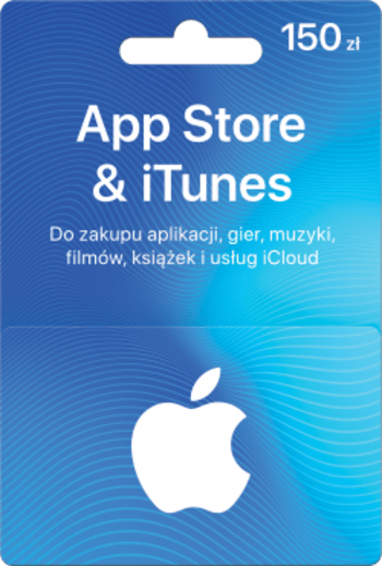 Apple iTunes Gift Card 150 PLN iTunes Key POLAND