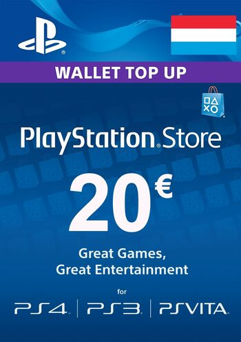 PlayStation Network Card 20 EUR (LU) PSN Key LUXEMBOURG