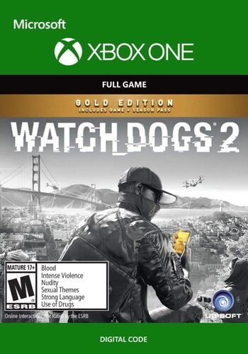 Watch Dogs 2 (Gold Edition) (Xbox One) Xbox Live Key UNITED STATES