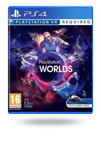 VR Worlds PlayStation 4