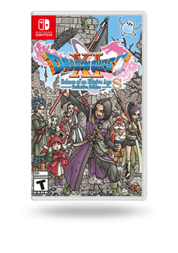 DRAGON QUEST XI S: Echoes of an Elusive Age - Definitive Edition (Dragon Quest XI S: Ecos De Un Pasado Perdido - Edición Definitiva) Nintendo Switch