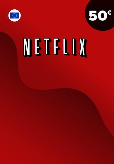 Netflix Gift Card 50 EUR Key EUROPE