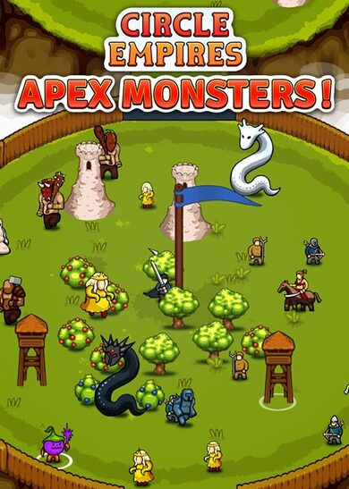 Circle Empires: Apex Monsters! Steam Key GLOBAL
