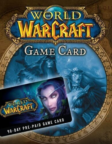 World of Warcraft 90 days Pre-Paid Time Card Battle.net Key UNITED STATES