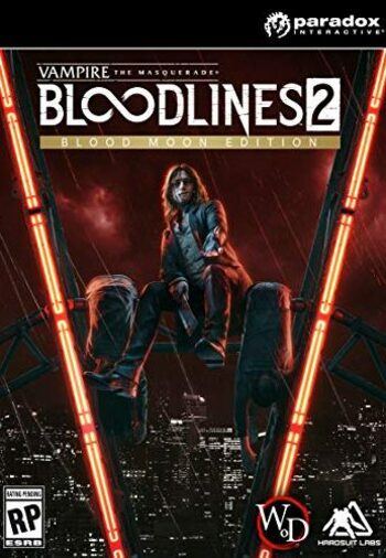 Vampire: The Masquerade - Bloodlines 2: Blood Moon Edition Steam Key GLOBAL