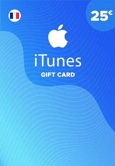 Apple iTunes Gift Card 25 EUR iTunes Key FRANCE