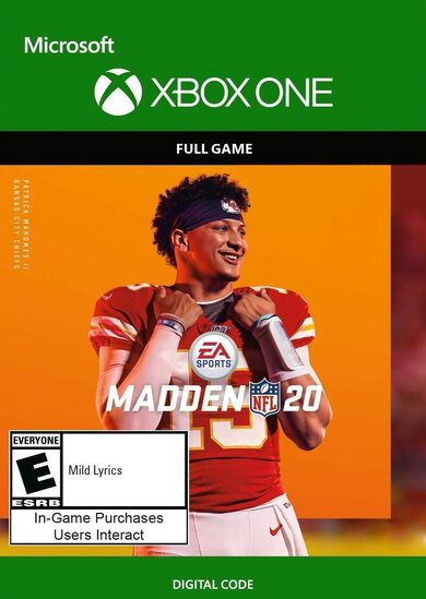 Madden NFL 20 (Standard Edition) (Xbox One) Xbox Live Key GLOBAL