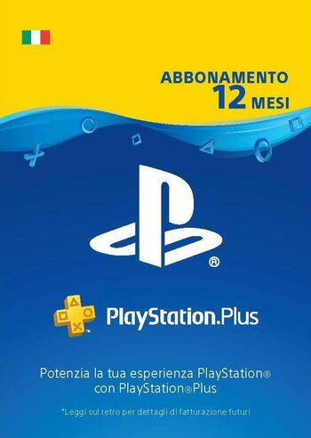 PlayStation Plus Card 365 Days (IT) PSN Key ITALY