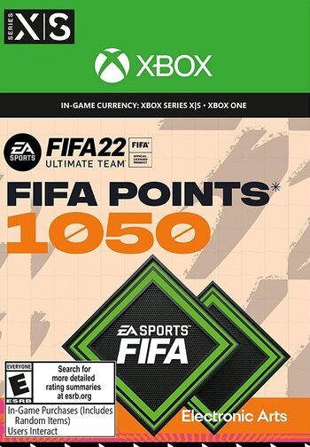 FIFA 22 - 1050 FUT Points Xbox Live Key GLOBAL